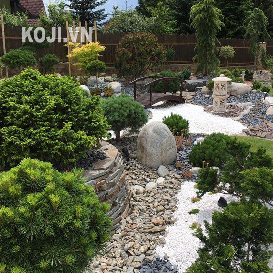 Karesansui: mẫu sân vườn cát và đá