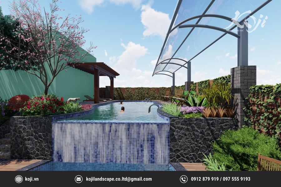 Biệt thự nhà vườn ở Lương Sơn Hòa Bình