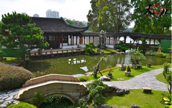 Thi công sân vườn kiểu Nhật