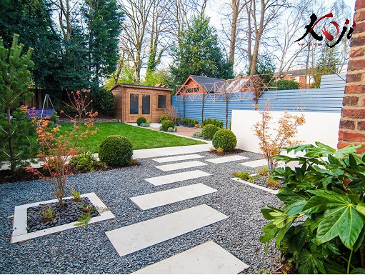 Dịch vụ thiết kế sân vườn theo phong cách cổ điển