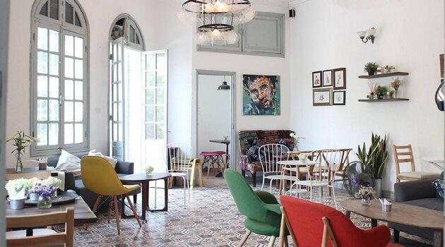 Quán cafe theo phong cách Châu Âu