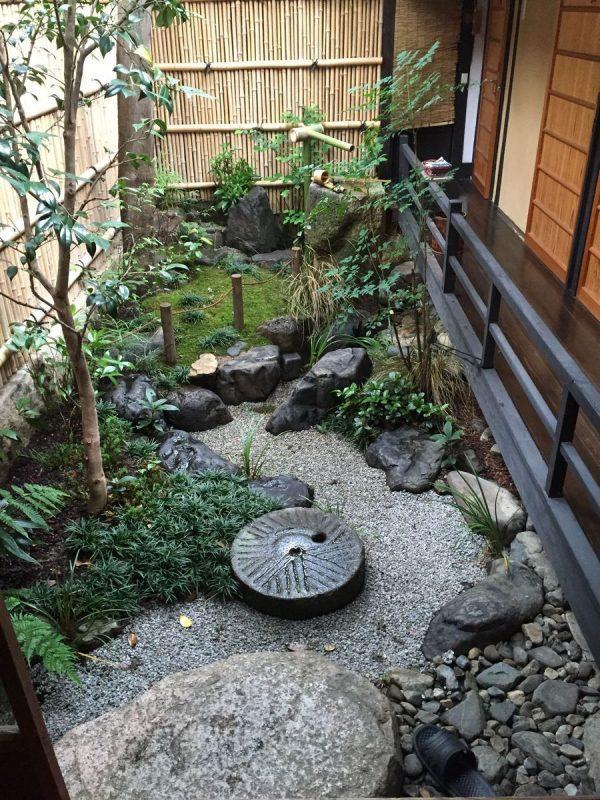 Tiểu cảnh sân vườn Nhật trong nhà