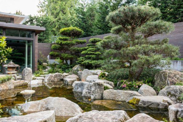 Biệt thự nhà vườn Nhật Bản mang đậm phong cách hiện đại và thường được yêu thích ở các thành phố lớn