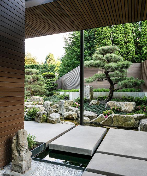 Mẫu thiết kế nhà vườn kiểu Nhật luôn được bố trí một cách hợp lý và khoa học, giúp con người tận hưởng được thiên nhiên trong lành