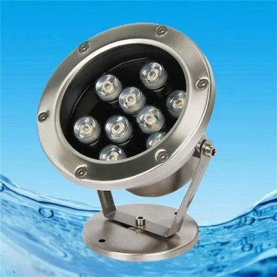 Đèn âm nước cho hồ cá, bể bơi
