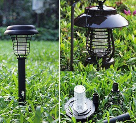 Đèn bắt muỗi trang trí sân vườn