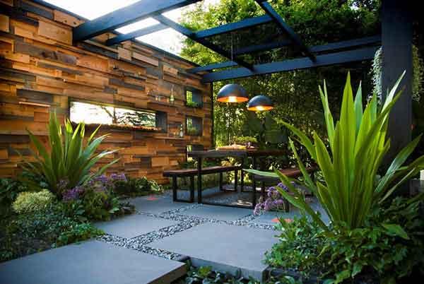 Mẫu thiết kế sân vườn hiện đại bắt mắt và thời thượng