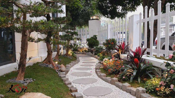Thiết kế sân vườn Nhật