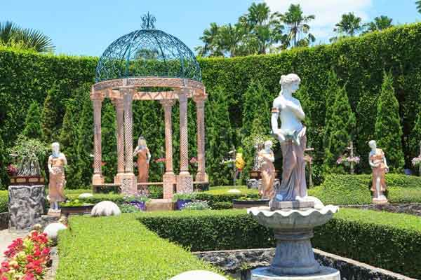 Những bức tượng sẽ là điểm nhấn cho khu vườn