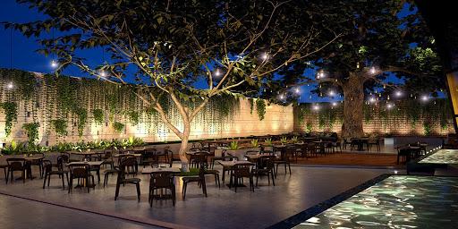 Thiết kế quán cafe sân vườn đơn giản đang là xu hướng