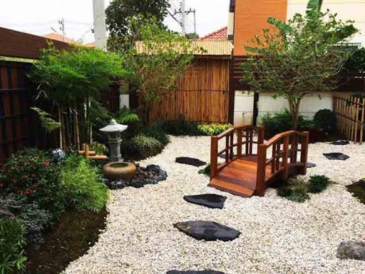 Thiết kế sân vườn biệt thự đẹp cho được ví như nghệ thuật