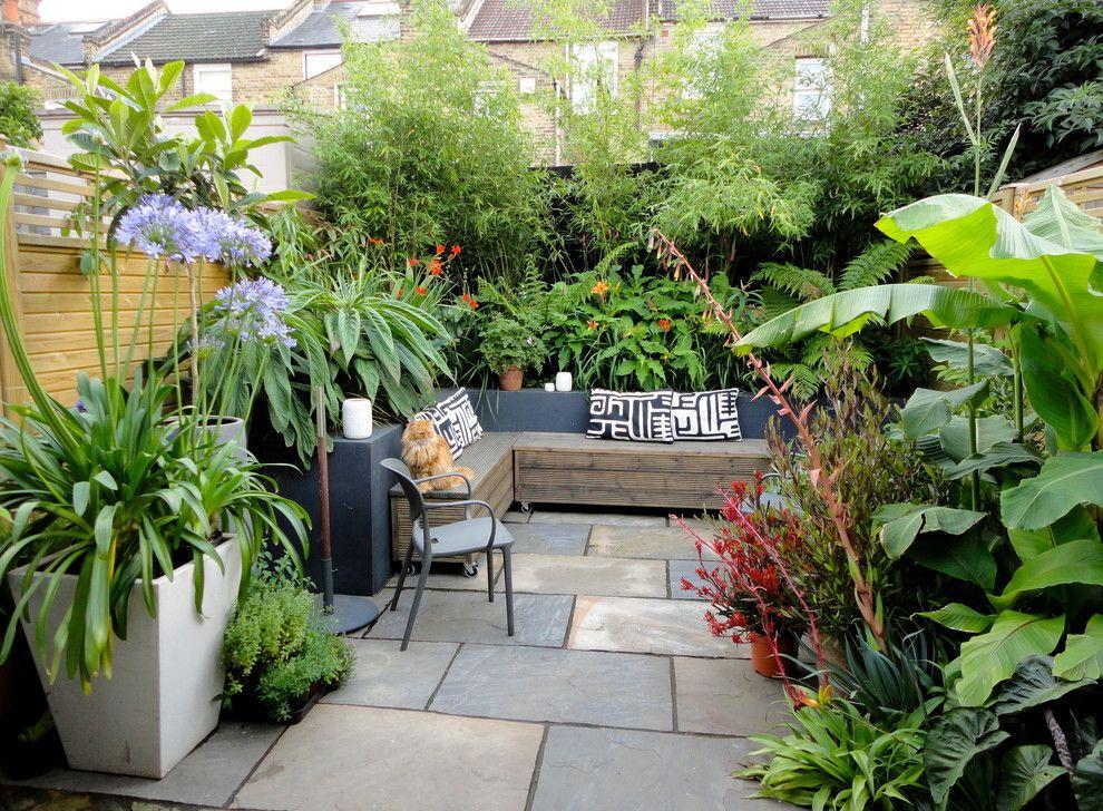 Thiết kế sân vườn đơn giản sau nhà nhưng đẹp độc đáo theo phong cách Phương Đông